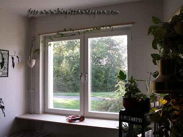 utökad fönsterbänk för  blomsterälskare