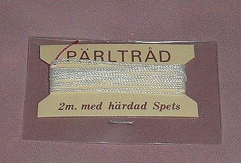 2 m pärltråd med härdad spets