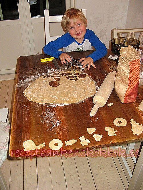 Roligt matpyssel för barn